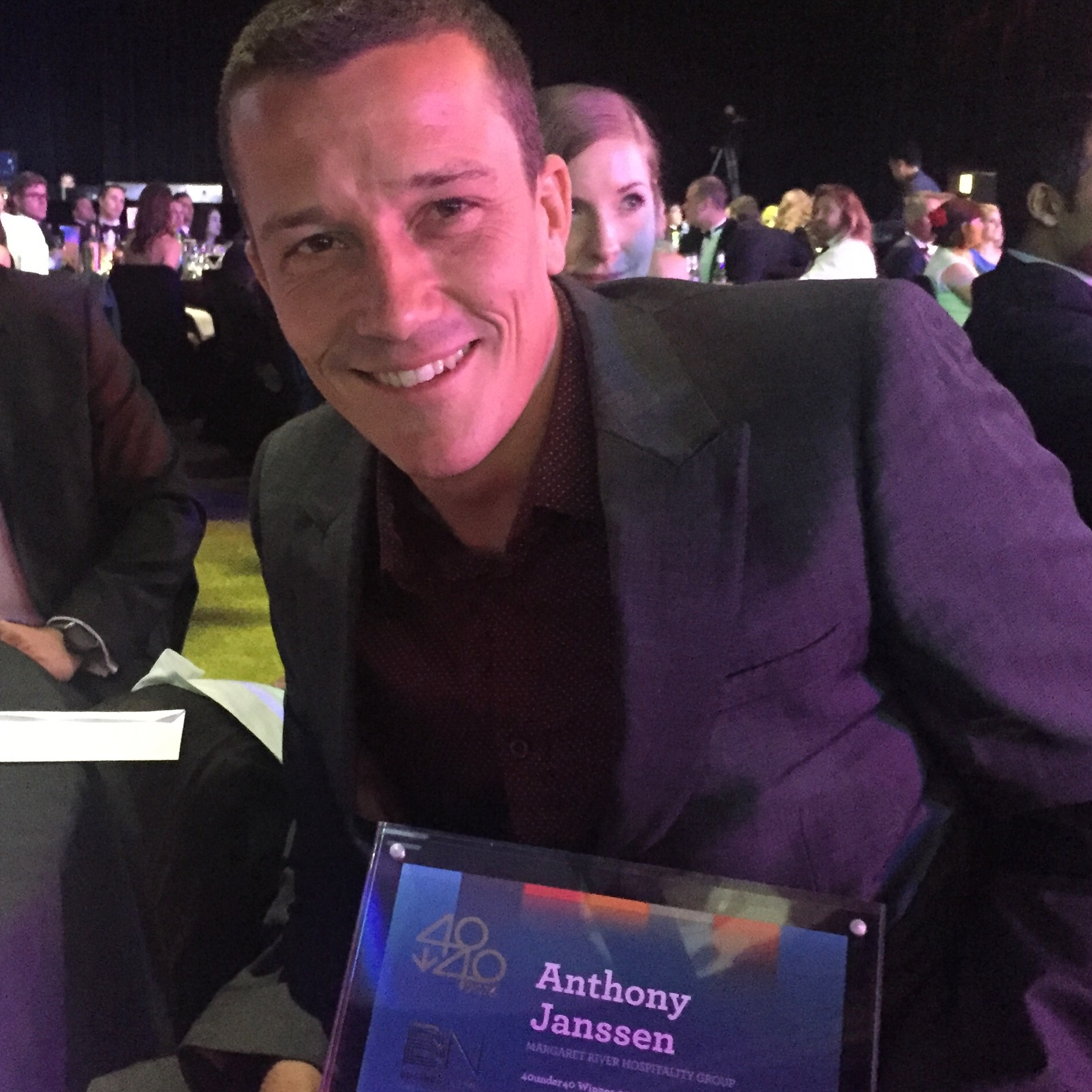 Anthony Janssen wins business award